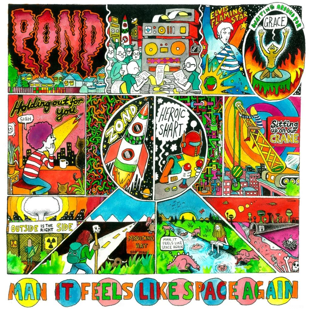 POND-Man It Feels Like Space Again