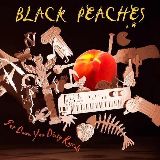 "BLACK PEACHES ""Get Down You Dirty Rascals"" (1965 Records Limited) - UK - Mars"