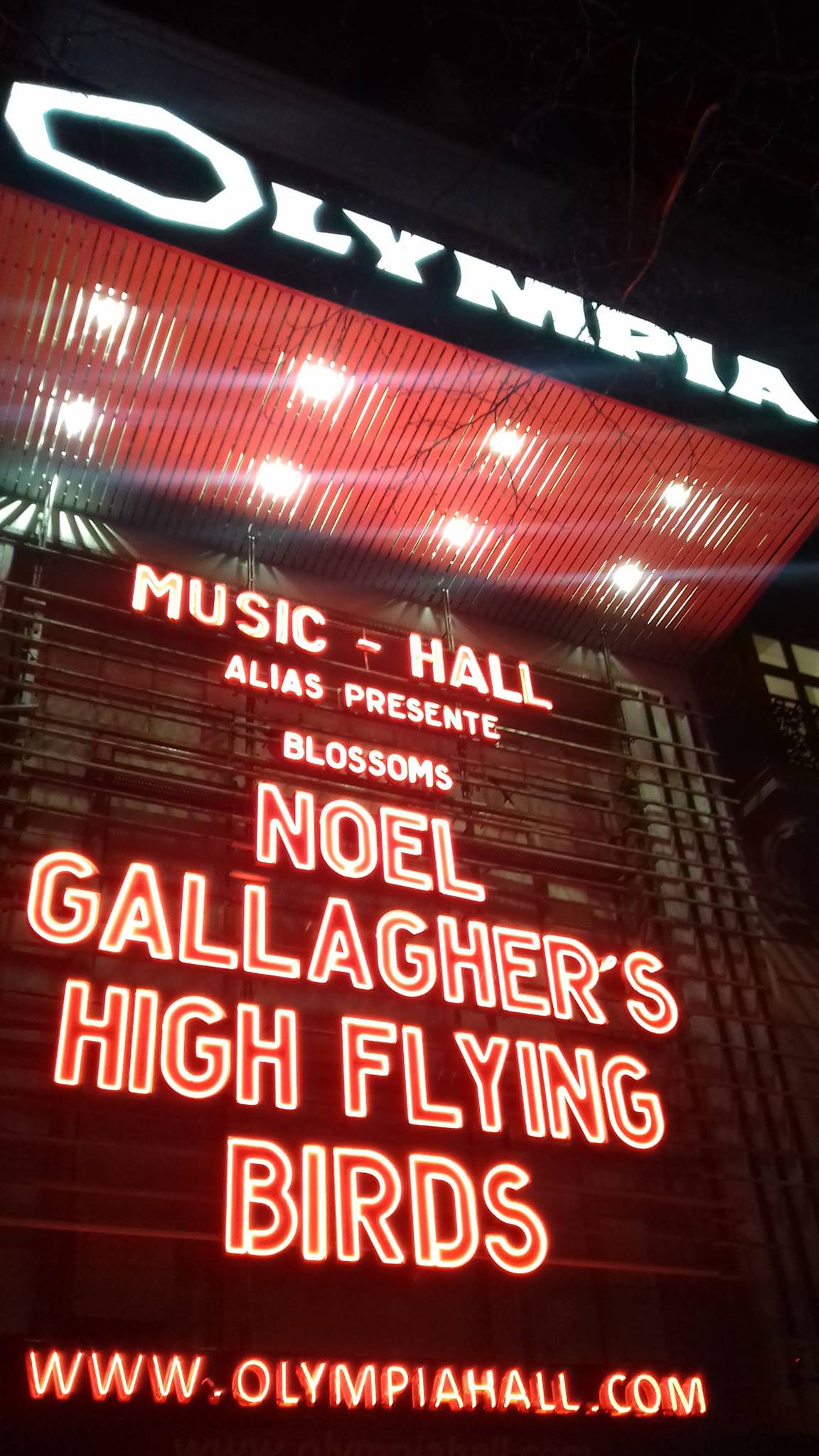Noel Gallagher Olympia avril 2018 (4)