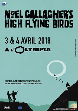 Noel Gallagher's High Flying Birds Olympia 2018