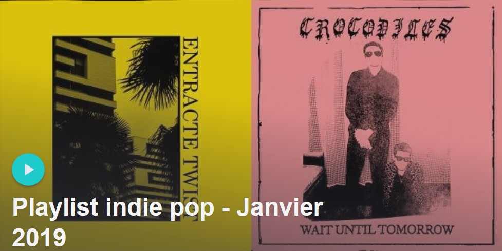 Playlist rock indé janvier 2019