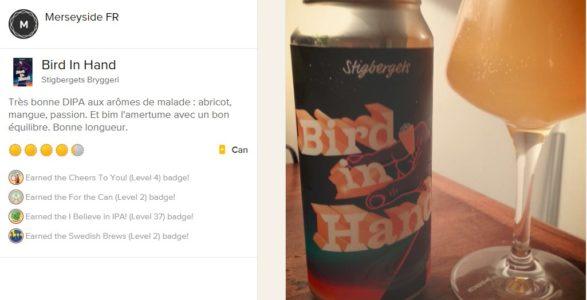 Bird in Hand bière
