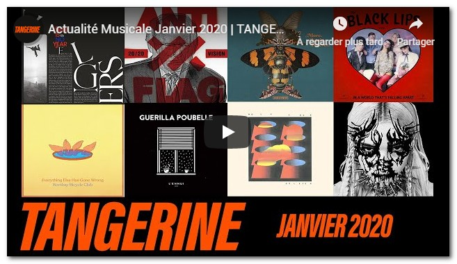 Tangerine chaine youtube albums rock
