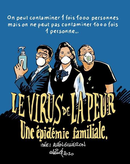 Coronavirus - Cite de la peur